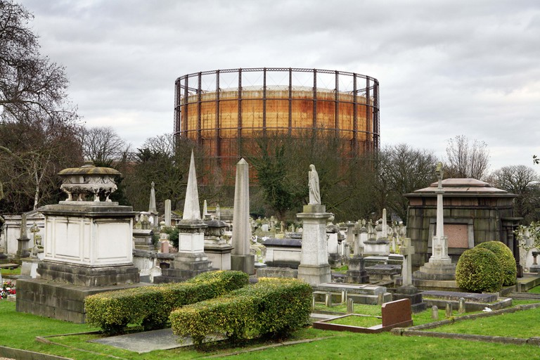 Kensal Green Cemetery is the resting place of some of the UK's most significant historical figures