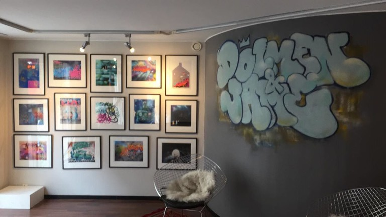 An exhibition about street art in Galleri MAP, Courtesy of Galleri MAP