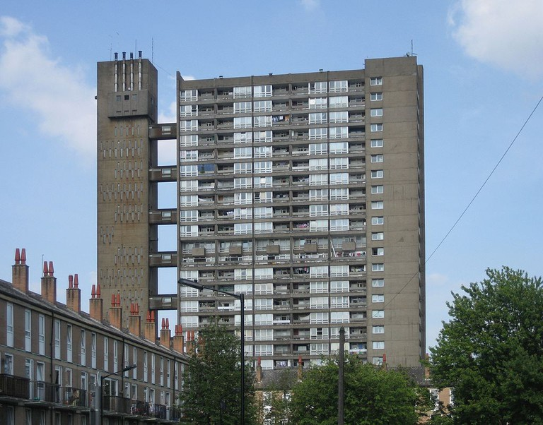 Balfron Tower of the Brownfield Estate in Poplar