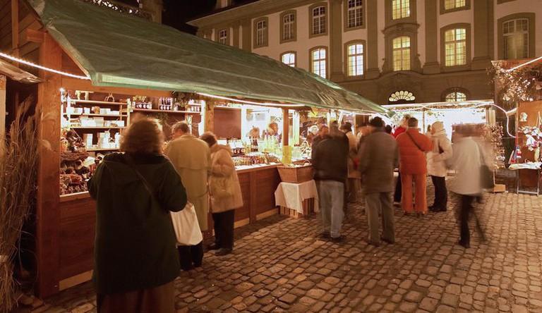 Berner Münster Christmas Market