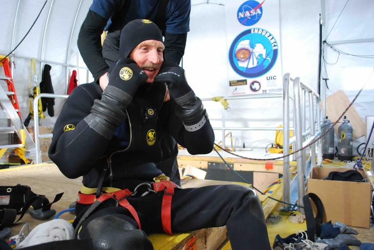 Bill Stone - Antarctica 2008 Dec 25