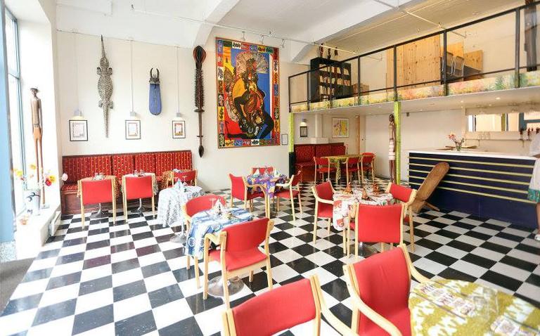 Café Afrikaden, Courtesy of Café Afrikaden