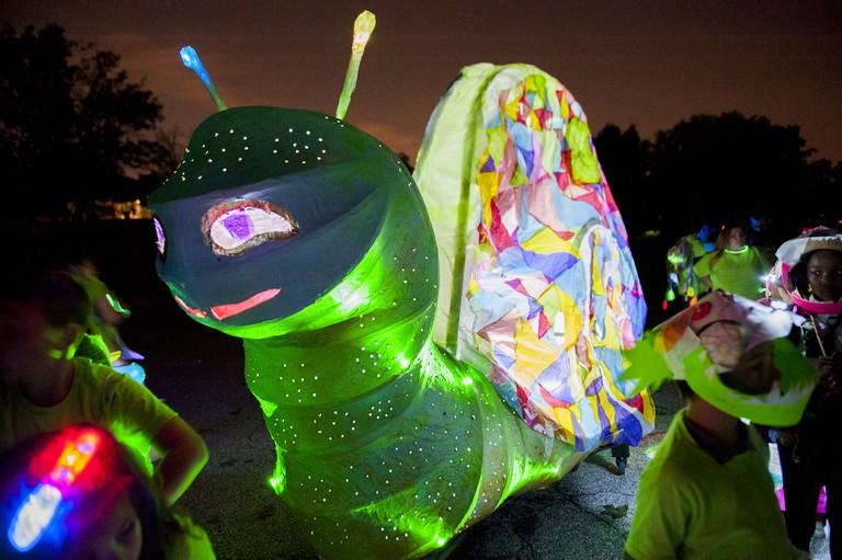 Creative Alliance, The Great Halloween Lantern Parade, Glowworm