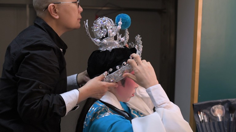 Costume and make-up are crucial to storytelling in Cantonese opera