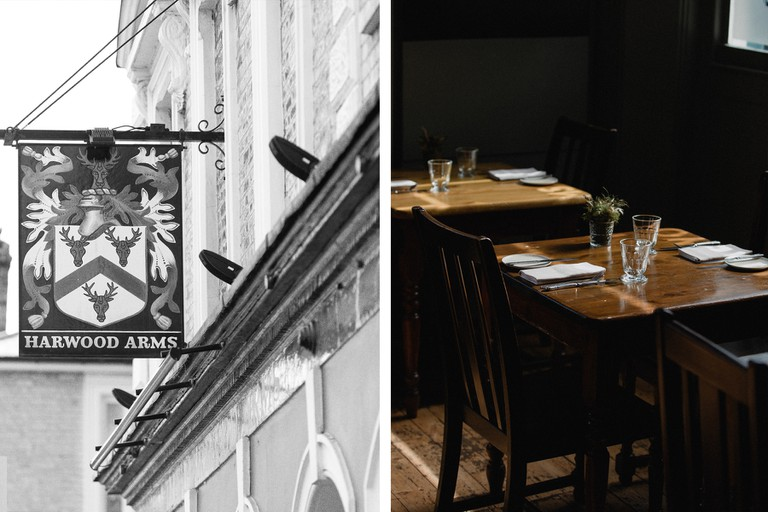 The Harwood Arms is London's only Michelin-star pub