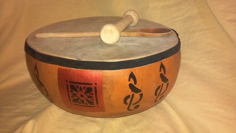 Handmade cooking tools and drum