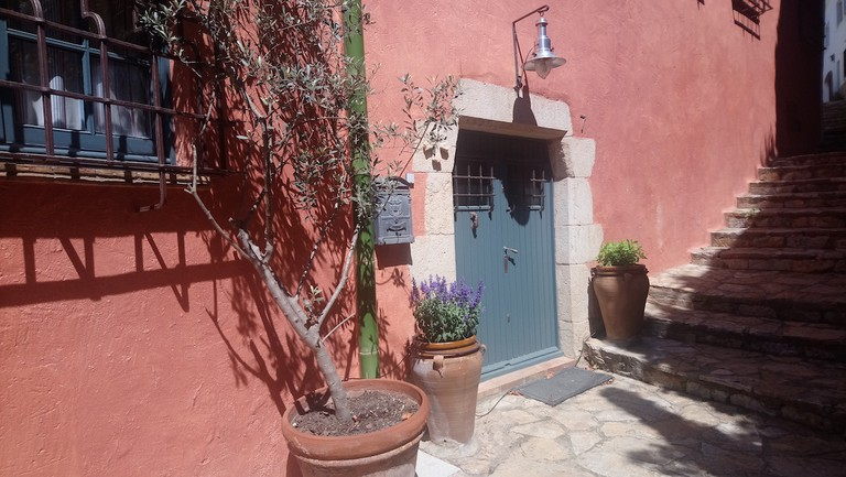 A colourful cottage in Begur, Catalonia