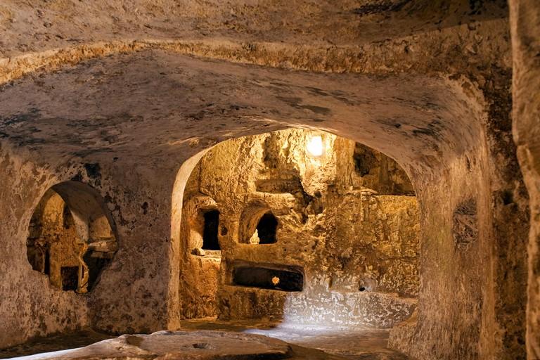 St. Paul's Catacombs. Rabat, Malta.