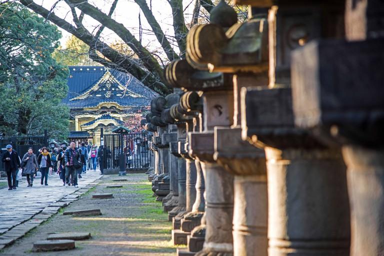 Ueno Toshogu Shrine,Ueno Park,Taito-Ku,Tokyo,Japan