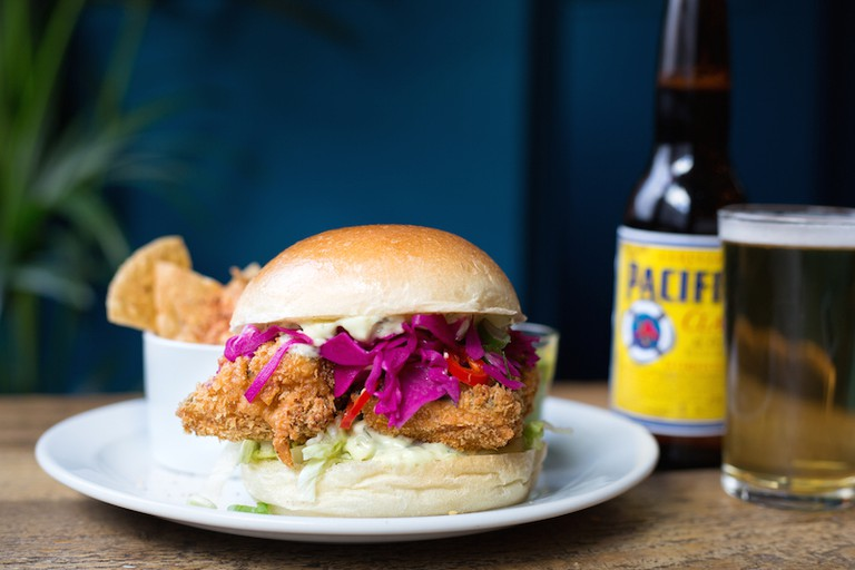 'Fish' burger