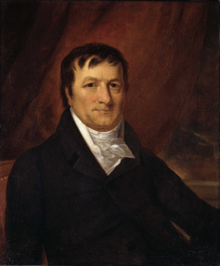 John Jacob Astor by John Wesley Jarvis.