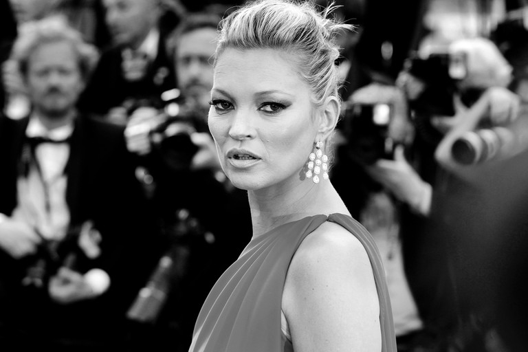 Kate Moss attends film premiere in Cannes