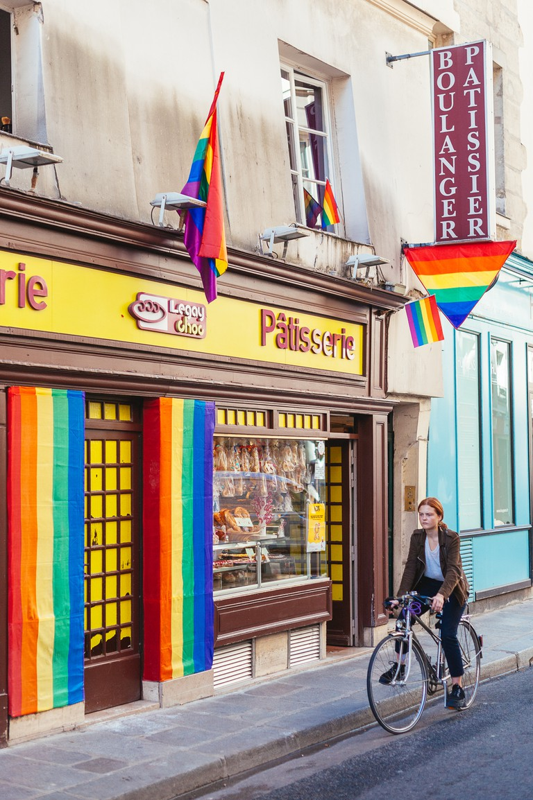 This avant-garde bakery is in a historically gay neighbourhood