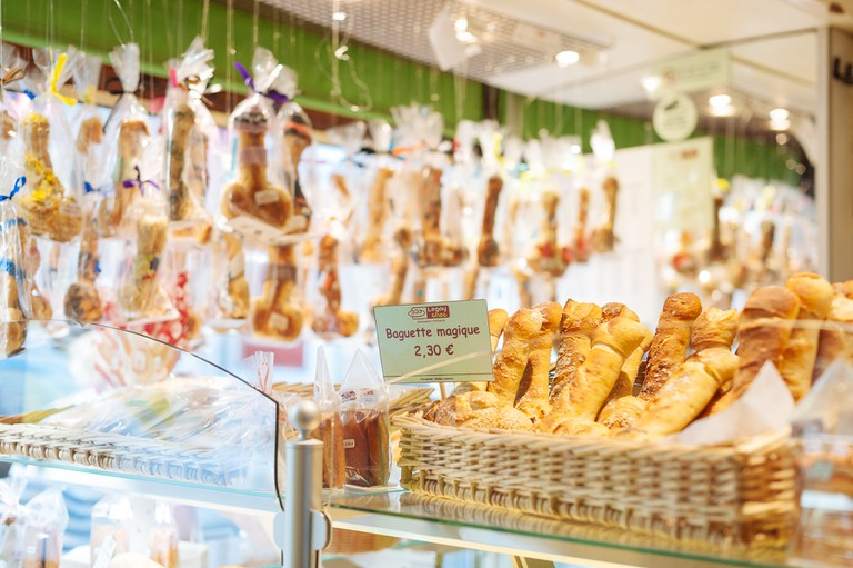 The baguette magique is the bakery's most famous creation