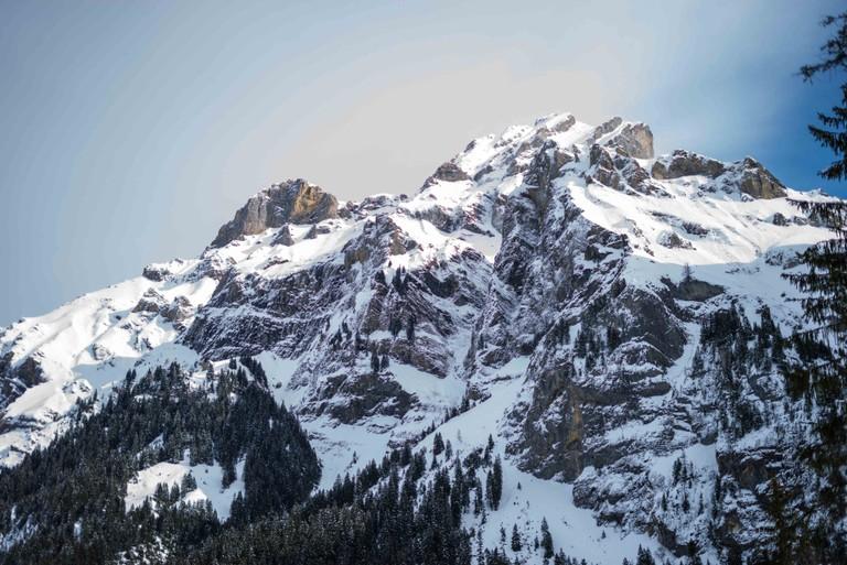 Adelboden Peak, Switzerland