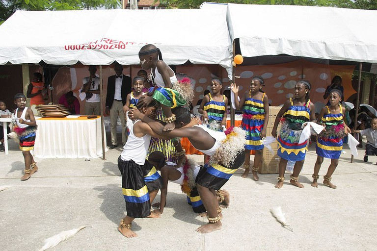 Ibibio dancers