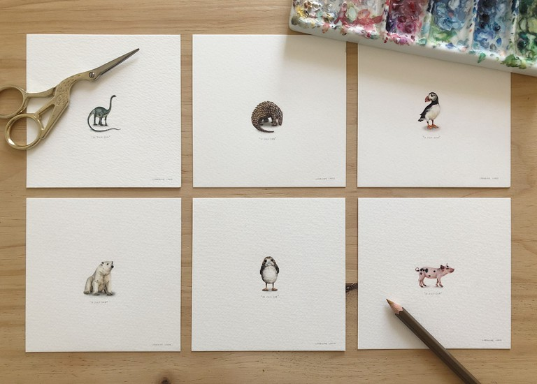 Lorraine Loots' 'Paintings for Ants'