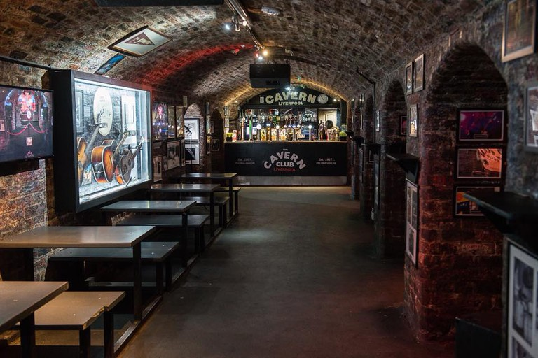 Inside The Cavern Club, Liverpool