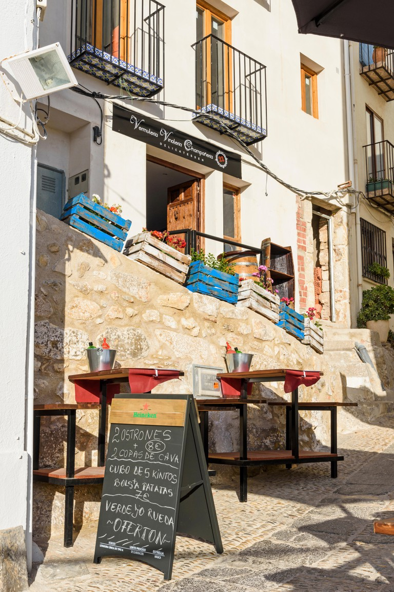 Bar and shop in Spain