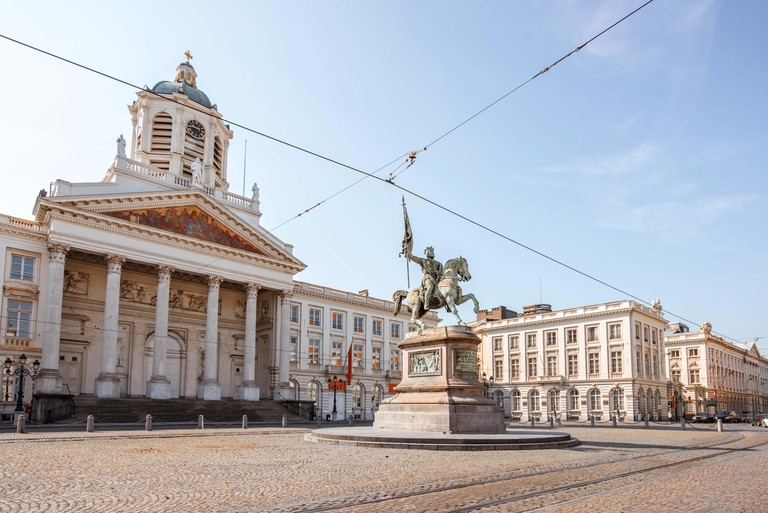 Royal square in Brussels