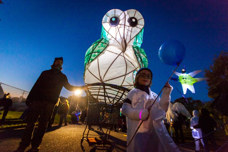 Creative Alliance, Great Halloween Lantern Parade and Festival, Baltimore, Maryland