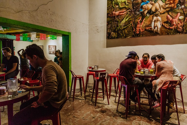 Pulquería Insurgentes in Mexico City celebrates pulque in various drinks and flavors