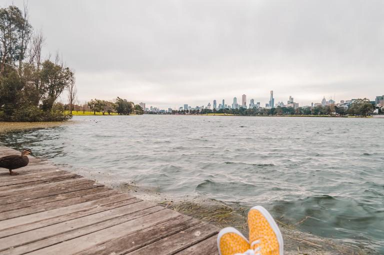 Kickin' it in Keds in Melbourne