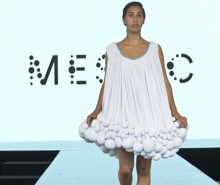 A dress made from Mestic