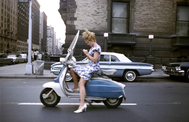 'New York City' (1965) byJoel Meyerowitz