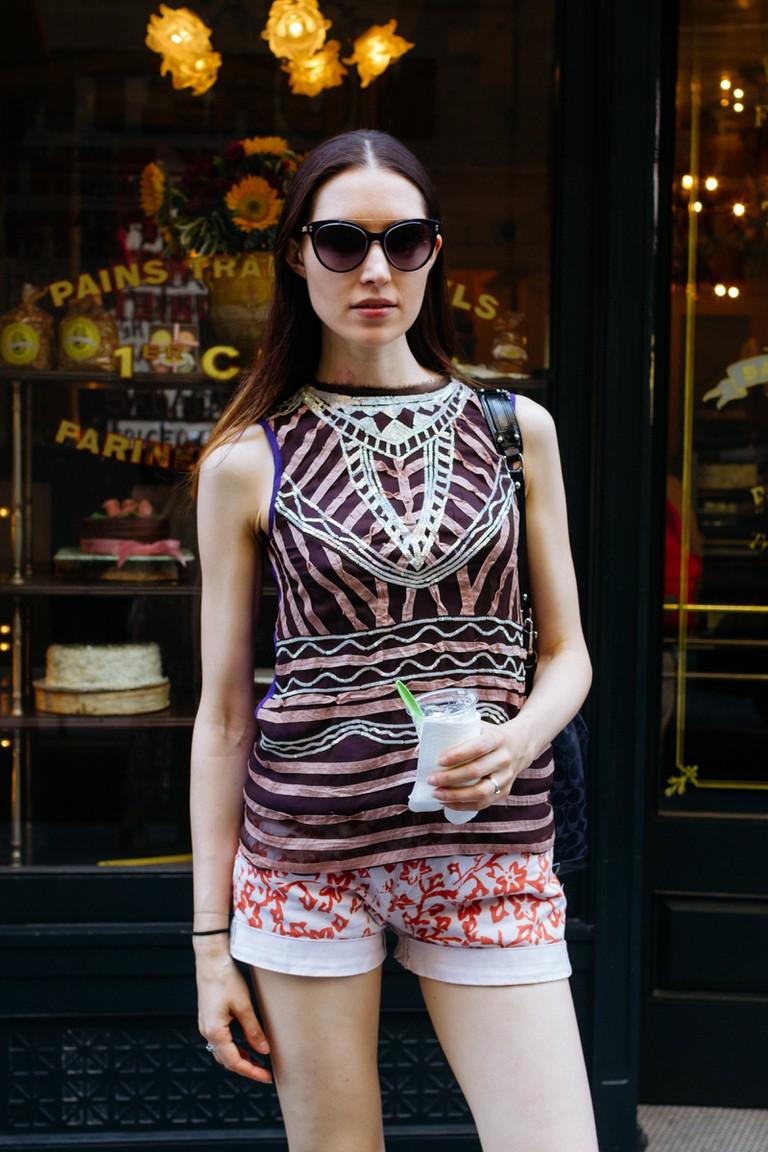 Spring Street Style-Soho-New York-USA