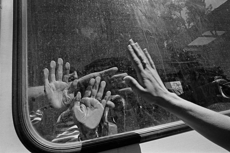 'Evacuation of Sephardic Jews from Sarajevo' (1993) byGilles Peress