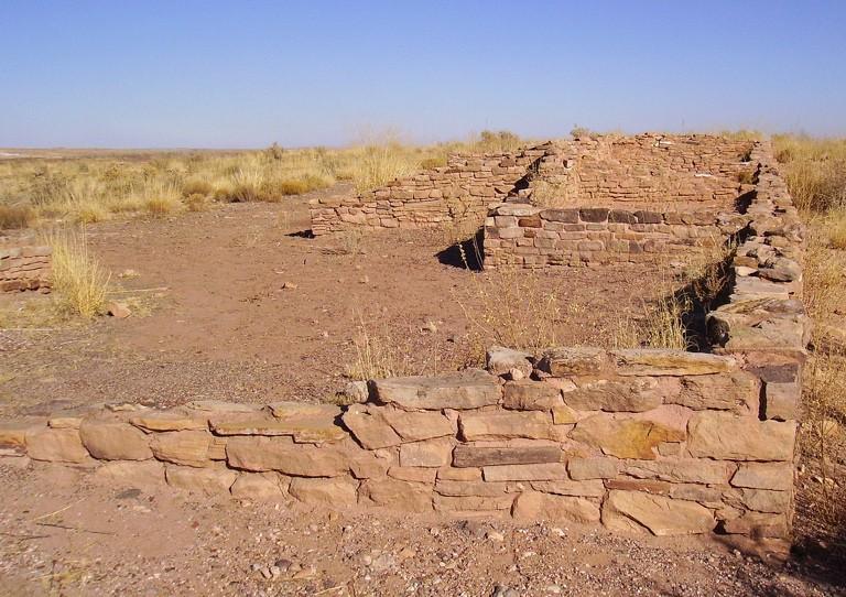 Petrified Forest Puerco Pueblo