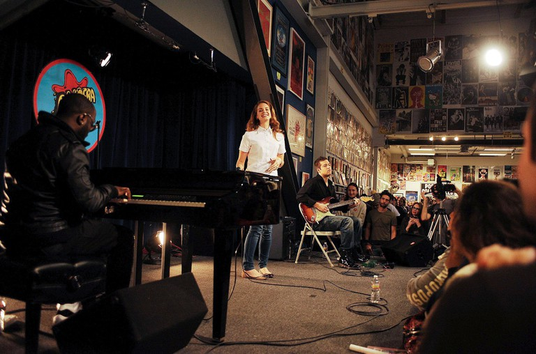 Lana Del Rey In-Store Performance at Amoeba Records, Los Angeles, America - 07 Feb 2012