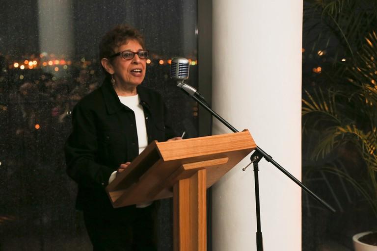 Hettie Jones at Poetry Reading at The Standard, New York, America - 02 Jun 2015