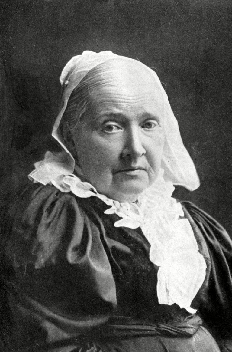 "Julia Ward Howe, composer and publisher of ""The Battle Hymn of the Republic "" in 1862, became a leader in the woman's suffrage movement in 1868. She also participated in movements to promote international peace."