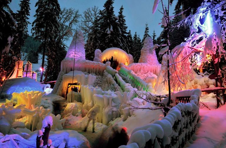 Switzerland Ice Palaces