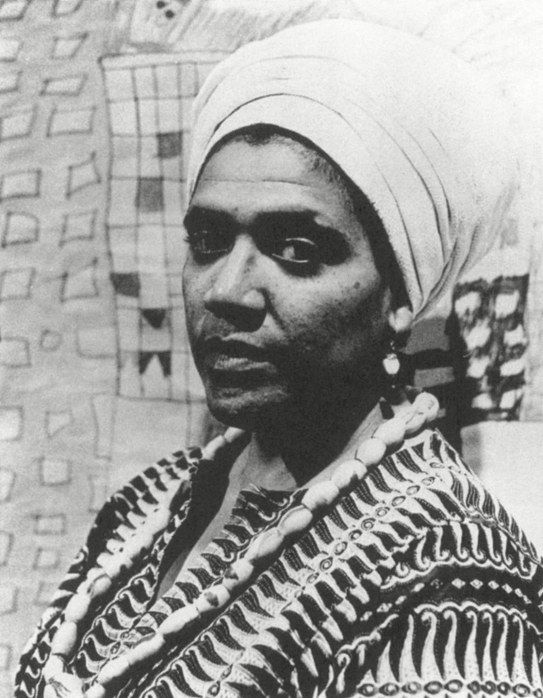 Audre Lorde (1934-1992).