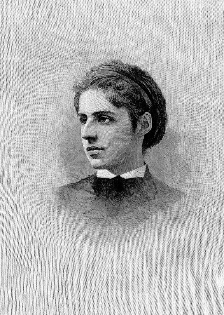 Emma Lazarus (1849-1887).