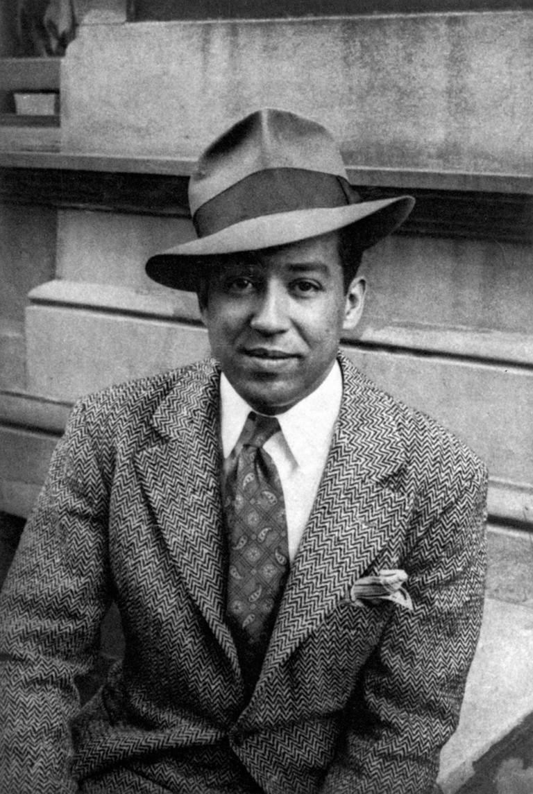 Langston Hughes (1902-1967). American Writer. Photographed In 1939 By Carl Van Vechten.