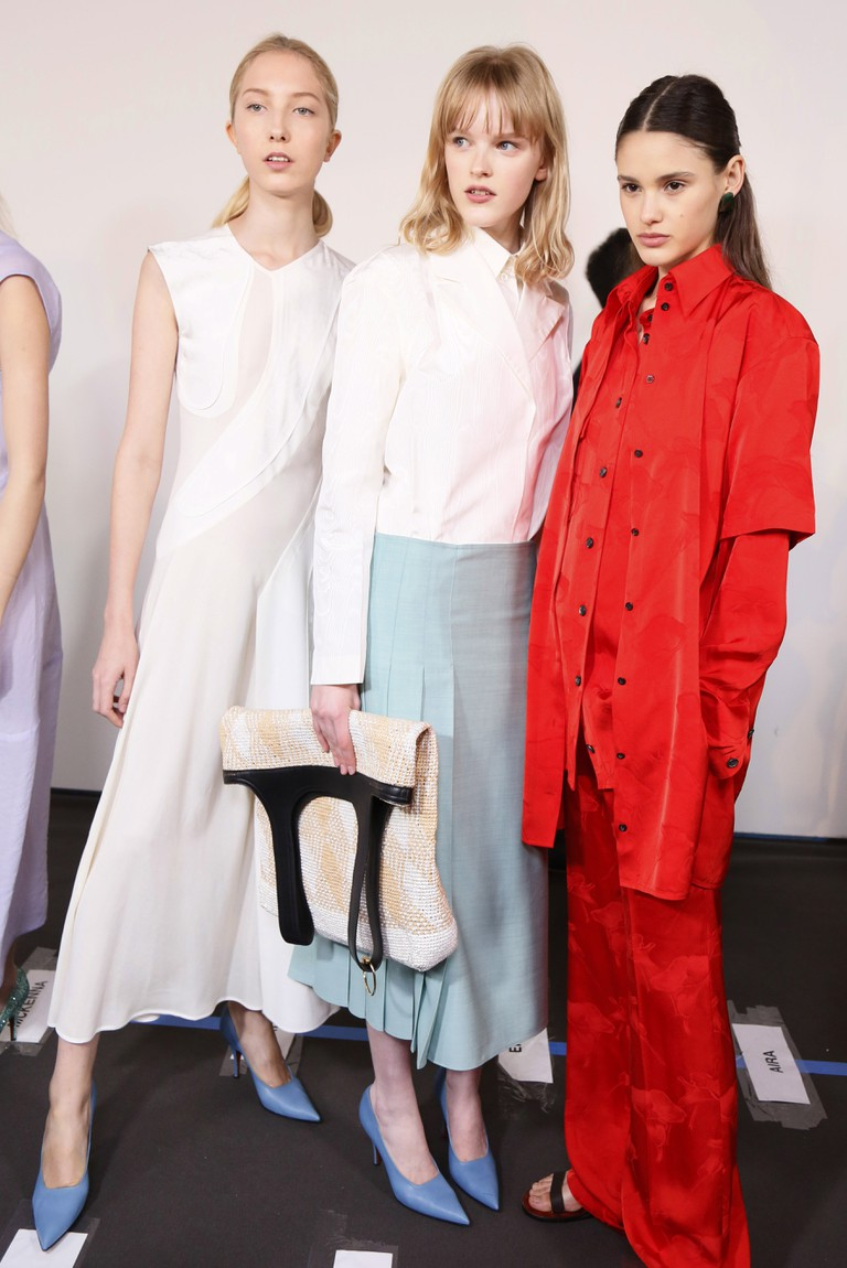 Victoria Beckham show, Backstage, Spring Summer 2018, New York Fashion Week, USA - 10 Sep 2017