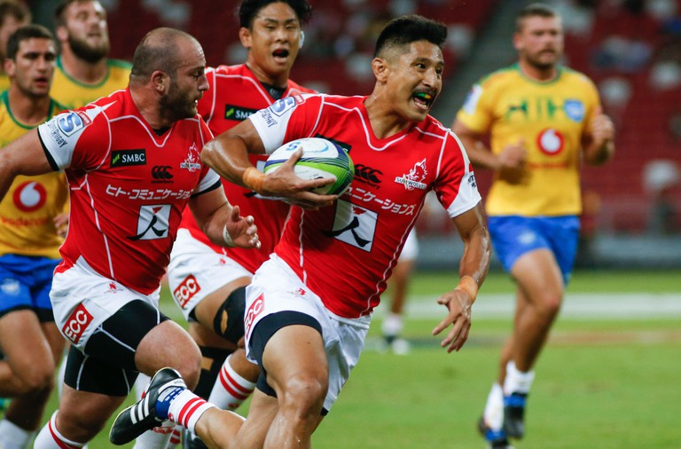 Super Rugby, Singapore.