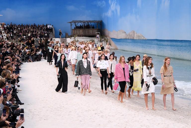 Chanel show, spring/summer 2019, Paris Fashion Week