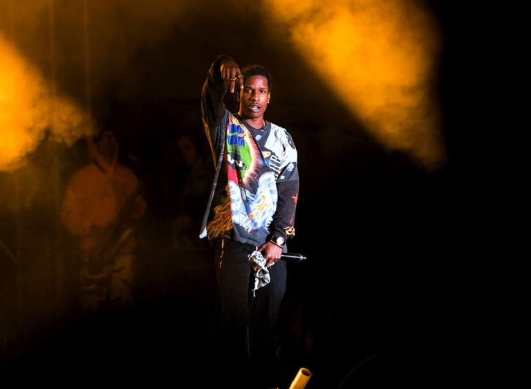 A$AP Rocky at Treasure Island Music Festival, Oakland, California, in 2018