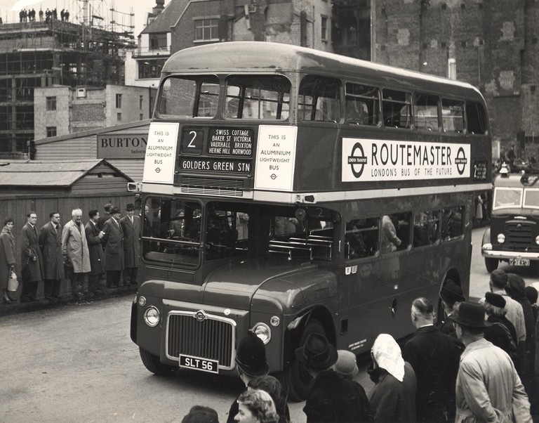 The Routemaster launched in 1956