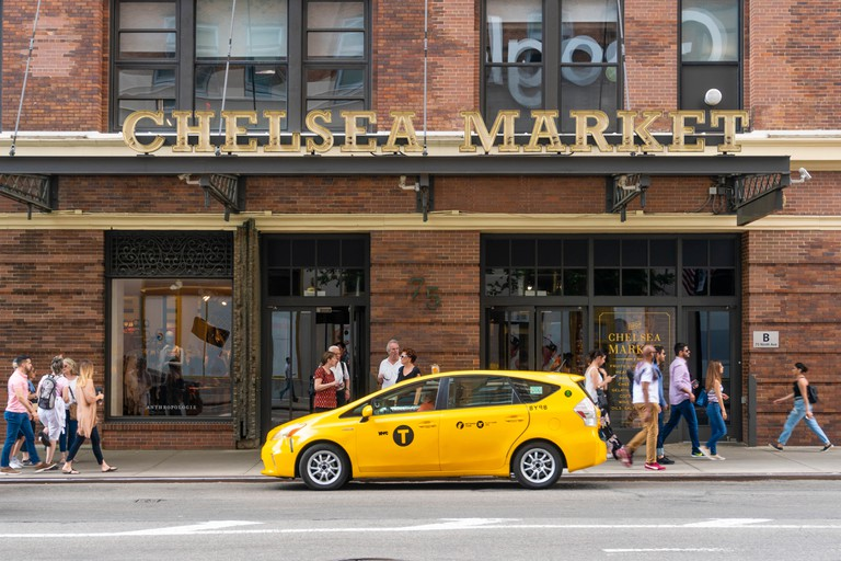 Chelsea Market building in New York City, which was bought by Google in March 2018.