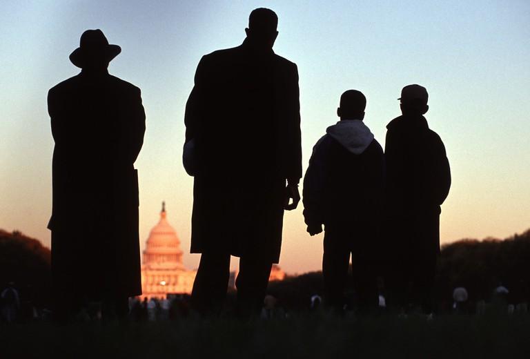 'Million Man March in Washington, D.C.' (1995) by Pete Souza