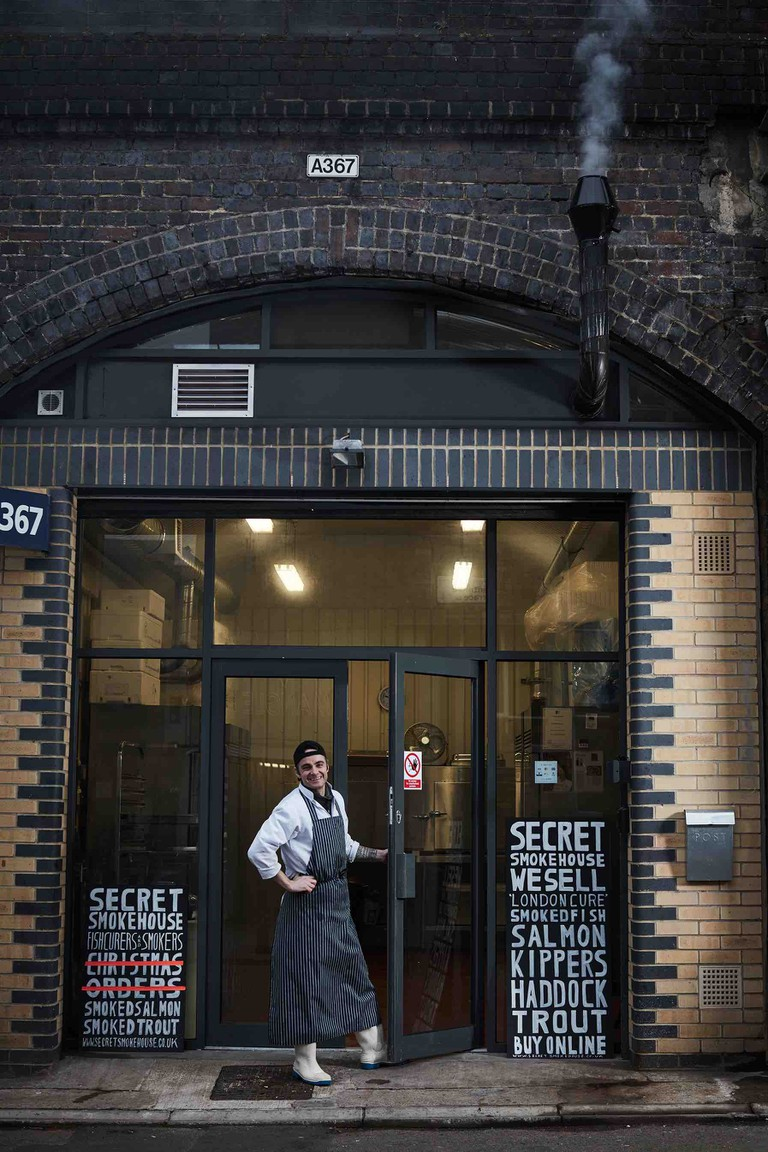 Secret Smokehouse in London's East End