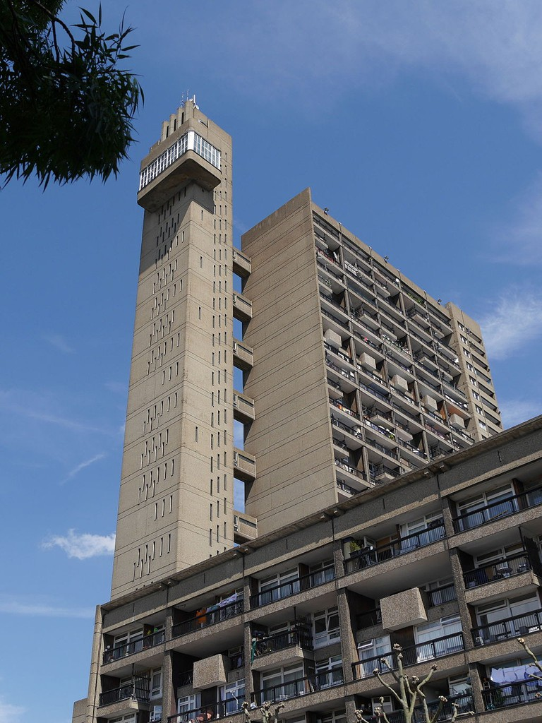 Trellick Tower in West London