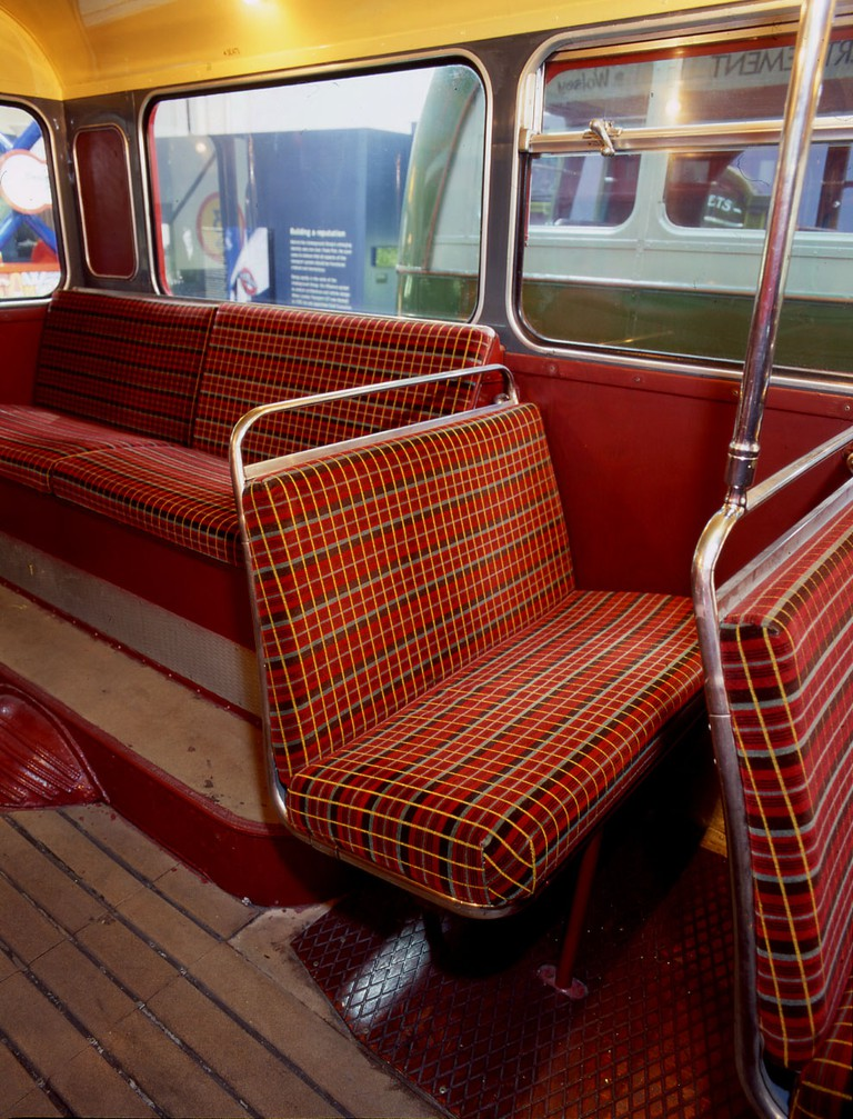 Untitled moquette for the Routemaster type bus, 1961