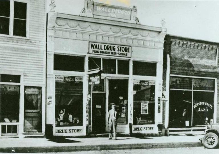 Wall Drug 1931 Storefront 1